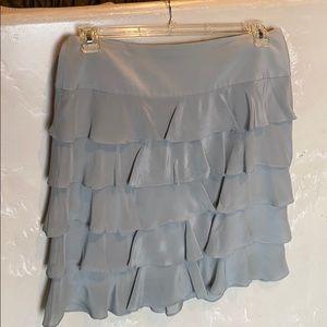 Talbots ladies ruffled skirt